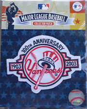 MLB Patch New York NY Yankees 100th Anniversary 1903 - 2003 Official Licensed