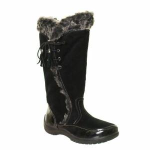 SPORTO NEW Women's Side Winder Waterproof Lace Up Winter Boots Shoes TEDO