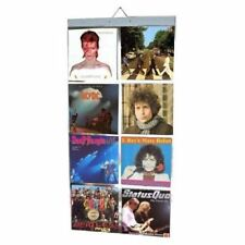 """Vinyl Lp Record Picture Pockets Hanging Wall frame for 12"""" Vinyl Lp 33rpm Record"""
