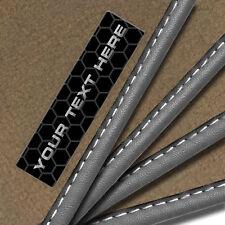 Honda Insight (2010+) Tailored Carpet Car Mats + Custom Badge [C]
