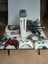 Xbox 360 White Console Bundle with 7 game 3 Controller's + more free shipping