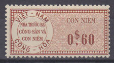 South Viet Nam Bft 32v MNH. 1960 0$60 Fiscal, Unlisted