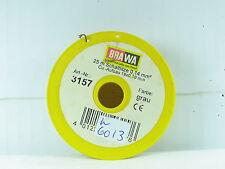 Brawa 3157 / 25 Meter Schaltlitze 0,14 mm² grau OVP (y2394)