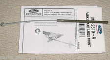 Mustang Brake Cable Ford Racing M-2810-A With Extras 87-93 Rear Disc Conversion