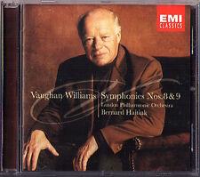 Bernard Haitink: Vaughan Williams Symphony No. 8 & 9 EMI CD London Philharmonic