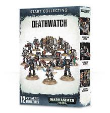 Start Collecting Deathwatch Space Marines Marine Warhammer 40k NEW