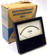 INTERNATIONAL INSTRUMENTS 1941T PANEL METER, RPMX1000, RANGE 0-25