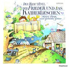 LP - DER KRAUTESEL / DER FRIEDER UND DAS KATHERLIESCHEN - LITERA SCHALLPLATTE