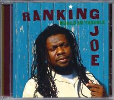 Reggae Roots Music CD Ranking Joe World in Trouble DJ MRecords Sealed Album New