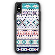Navajo Muster Türkis iPhone XS Max SILIKON Hülle Cover Mädchen Frauen Damen S...