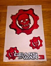 Stickers Gears Of War 3 sur Xbox 360