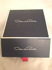 Oscar De La Renta Signature Logo Presentation Empty Gift Box - Great For Jewelry