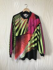 VINTAGE ADIDAS 90s GOALKEEPER FOOTBALL SHIRT SOCCER JERSEY  TEMPLATE