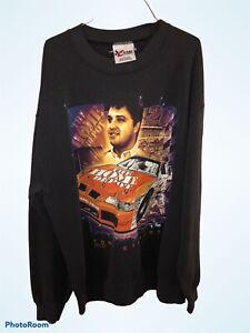 Vtg Tony Stewart NASCAR Graphic sweatshirt Chase Authentics Redline Sports 2000