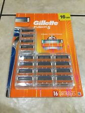 Genuine Gillette FUSION 5 Razor Blades 1 Pack of 16 Cartridges - New Sealed
