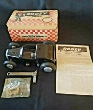 Vintage Spindizzy RODZY Gas Engine .09 Tether Cameron Sonora N.O.S. Racer W/Box