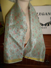 1 NEW Mixed Fibre Ladies Scarf Subtle Pinks-Pale Grey+Gold Gift Idea #63