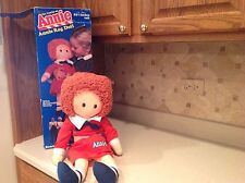 "Vintage 1982 Annie Rag Doll Knickerbocker W/ Sandy Used W/ Box Approx. 23.5"" T"