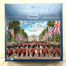 Brand New 1000 piece Gibson's Jigsaw Puzzle Trooping the Colour by Steve Crisp