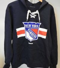 NHL New York Rangers #27 Lace-Up Sweatshirt Hockey Jersey New Mens X-LARGE
