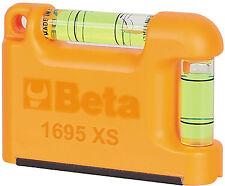 Beta 1695xs Livella tascabile con Base a V Magnetica alluminio 2 Fiale Livello