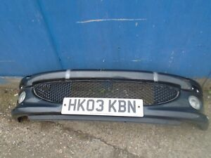 2003-2006 PEUGEOT 206 PRE FACE LIFT FRONT BUMPER IN BLACK WITH FOG LIGHTS