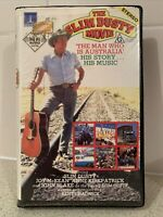 Slim Dusty Movie VHS Clamshell The Man Who Is Australia 1984 G His Story & Music