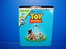Disney Toy Story 4K Uhd Blu-ray Bestbuy Exclusive Steelbook No Digital *Used*