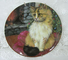 Cats Collection Mouse Cat Vintage Plate Formalities by Baum Bros w/ Wall Hanger