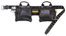 Dewalt 12 Pocket Carpintero Delantal de cinturón de herramientas de cuero de grano superior DG5472
