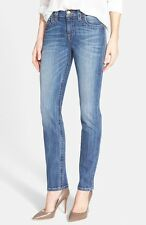 KUT from the Kloth 'Stevie' Stretch Straight Leg Jeans Priceless Blue Wash 12
