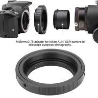 Adapter for M48*0.75 Mount Telescope Eyepiece Lens for Canon Nikon DSLR LJ