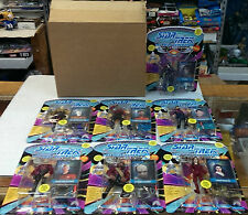 Star Trek:NEXT GENERATION Figure Set of 7 with Matching Serial Numbers - SEALED!