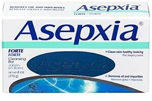 3 X Asepxia Forte Acne & Blemish Control Antiacnil FP Soap Bar 100g New Sealed