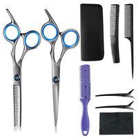 Professional Salon Hair Cutting Thinning Scissors Barber Shears Set Hairdressing
