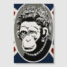 Banksy Queen Art Posters