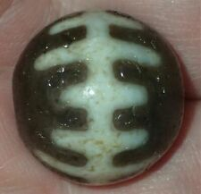 20mm Rare Antique Indo -Tibetan Sulemani Chung old Agate bead, #S2234