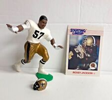 1988 Starting Lineup Football  - Open Rickey Jackson with card - Saints
