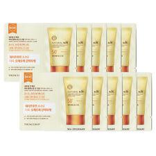 [THE FACE SHOP] Natural Sun Eco Power Long Lasting Sun Cream Sample 10pcs NEW
