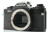 【Excellent+++】Olympus OM-4 Black body 35mm SLR Film Camera from Japan #618