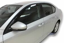 DSK28339 Skoda Octavia Mk3 2012- up wind deflectors 4pc set TINTED HEKO