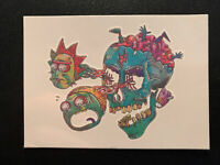 Cryptozoic Rick and Morty Season 1 Convention Exclusive Card Temp Tattoo T11