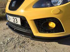 Seat Leon Cupra R FR real carbon fiber front bumper spliter lip splitter rare