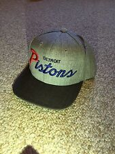 Mitchell and Ness Detroit Pistons SnapBack Hat