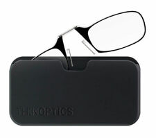 New  ThinOptics Black Pod Black/Clear Frame