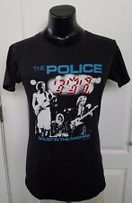 The Police 1982 Ghost In The Machine Tour Phase 2 Black T Shirt Large Vintage