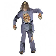Halloween Fancy Dress Adult mens Zombie Corpse Scary Halloween Costume One size