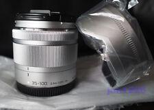 New Panasonic LUMIX G VARIO 35-100mm f4.0-5.6 ASPH MEGA OIS Silver Bulk lens