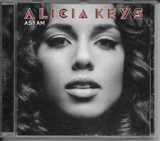 CD ALBUM 14 TITRES--ALICIA KEYS--AS I AM--2007