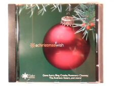 CD A Christmas wish cd NAT KING COLE PERRY COMO BING CROSBY COME NUOVO LIKE NEW!